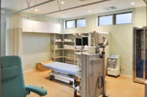 ふかざわ消化器内科クリニック-処置室
