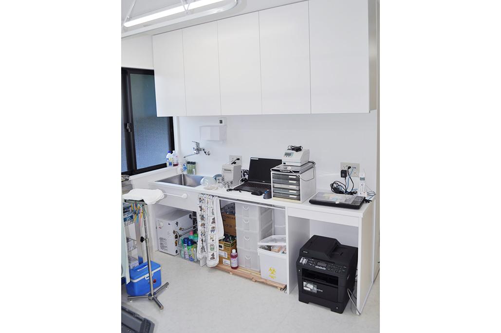 小川橋医院-処置室